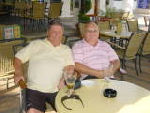 2007 - Pete Wallace and Dai Rees meet up in Cyprus